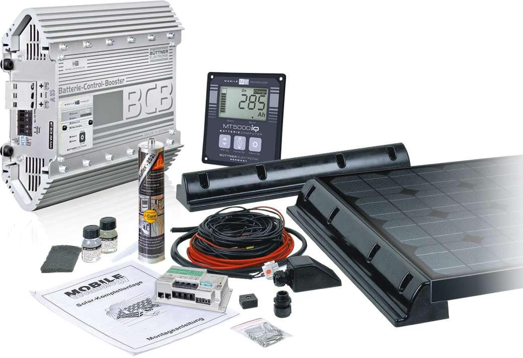 Büttner Solarset Power Pack I 100 W   04260397961902