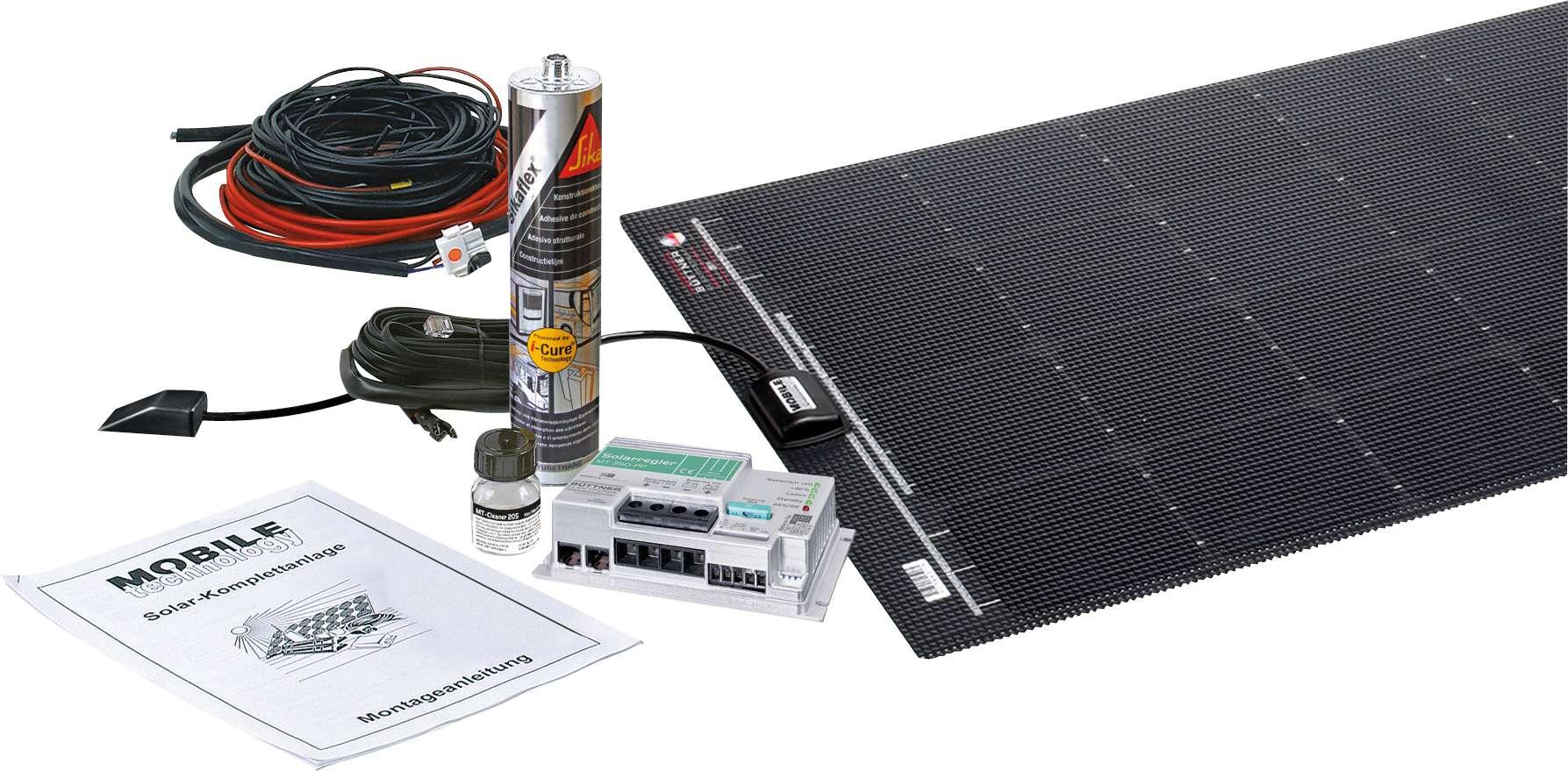 Büttner MT110-Solar Komplettanlage Flat-Light | 04260397962923
