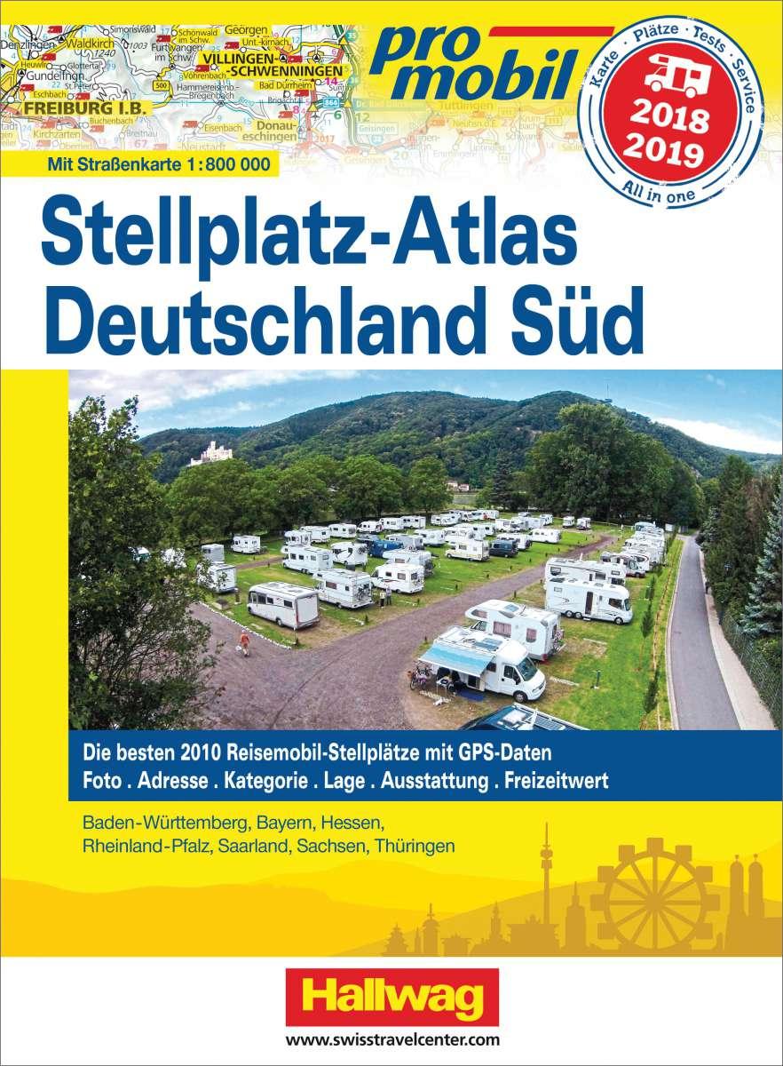 Stellplatzatlas Deutschland Süd 2018