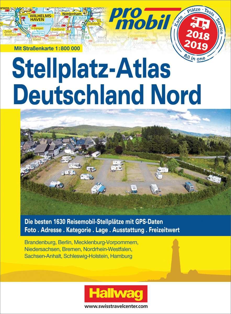 Stellplatzatlas Deutschland Nord 2018