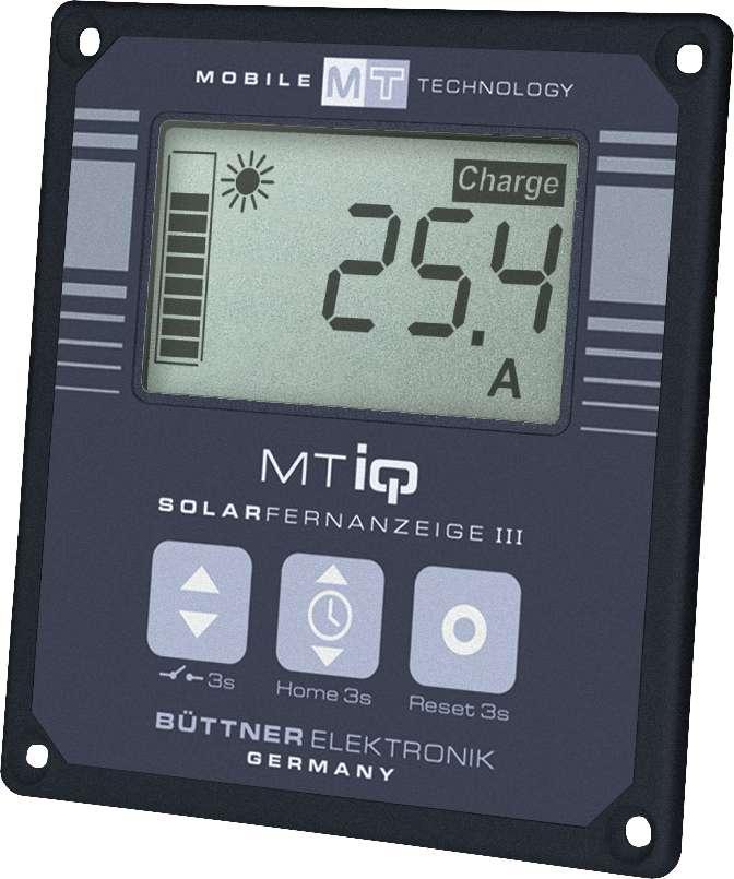 Büttner MT-Solar-Fernanzeige LCD III | 04250683615985