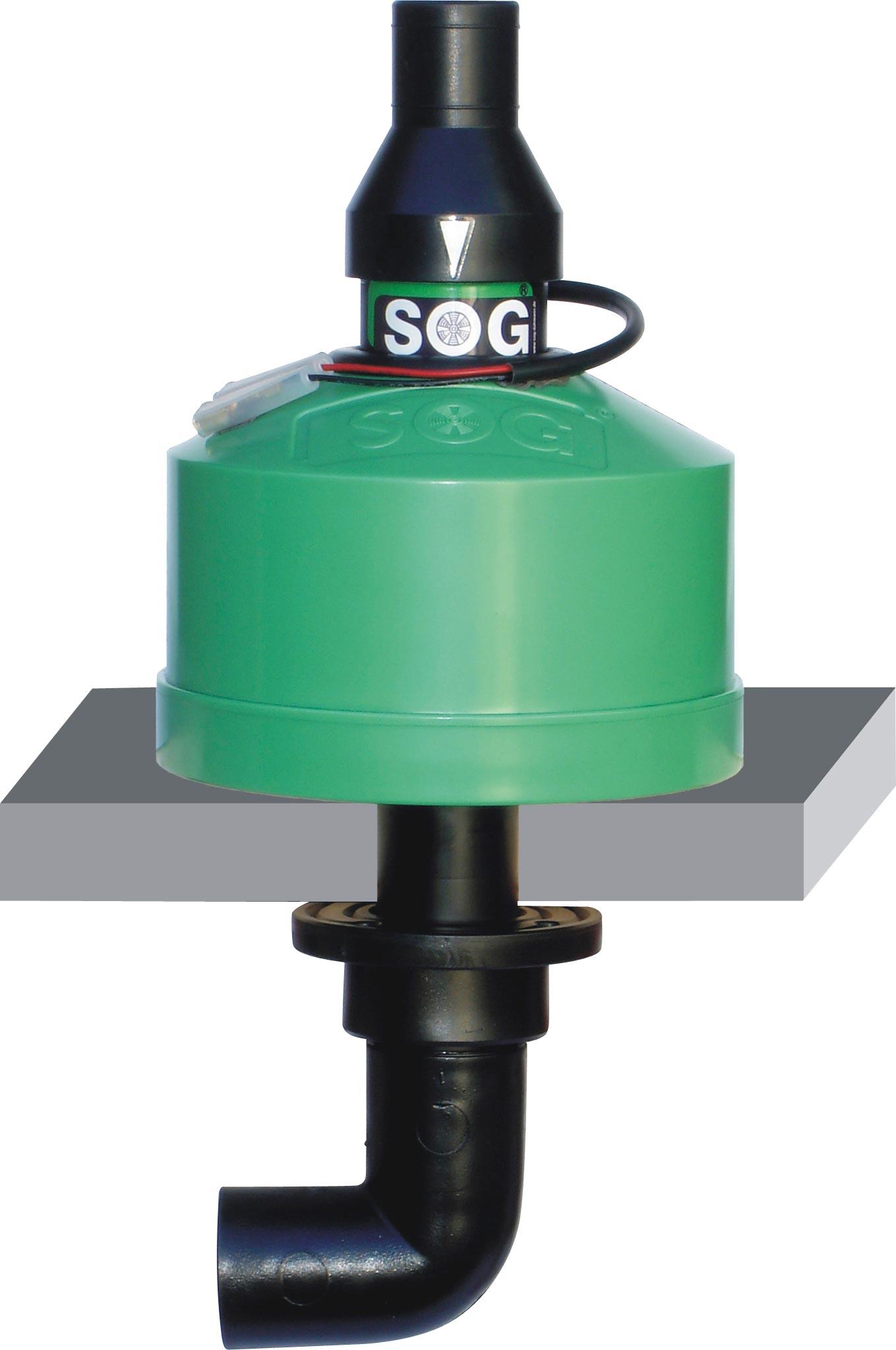 SOG II 12V Toilettenentlüftung Bodenvariante | 04260350440062