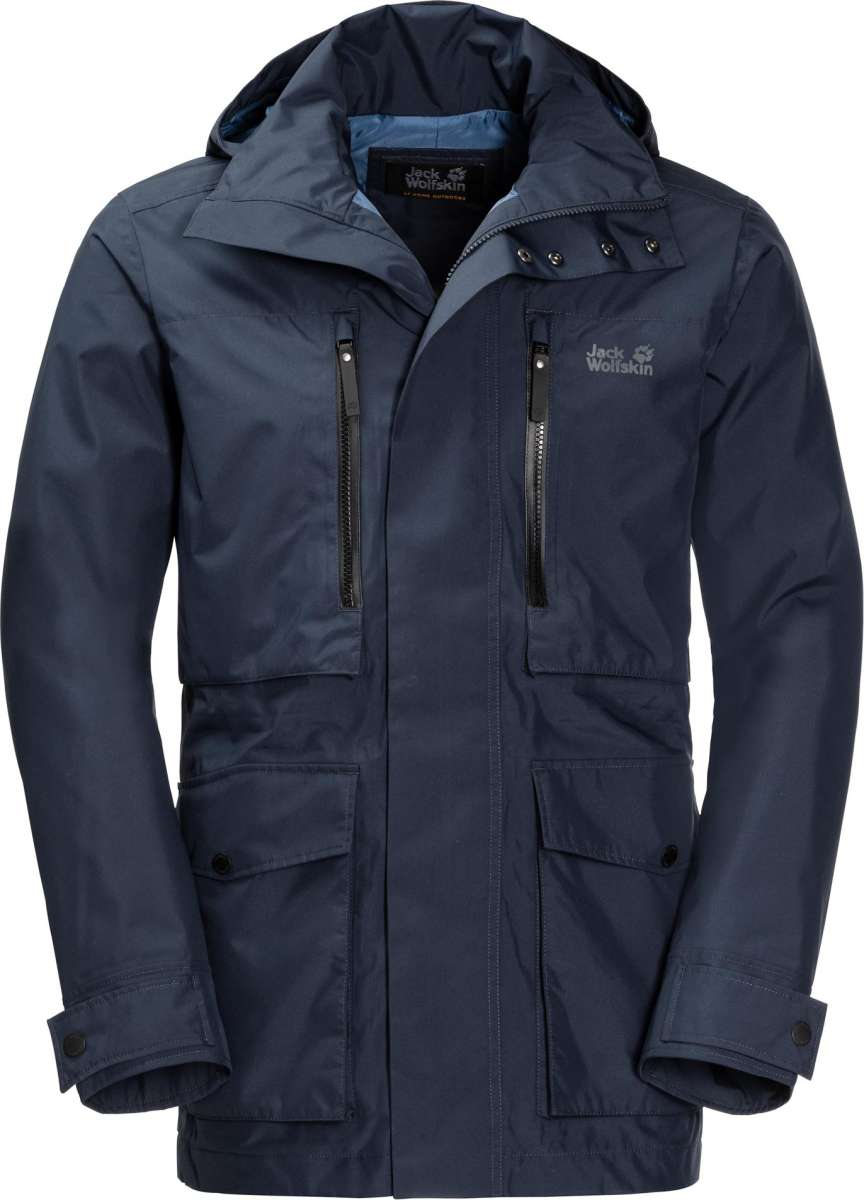 Jack Wolfskin Herrenjacke Bridgeport | 04055001752904