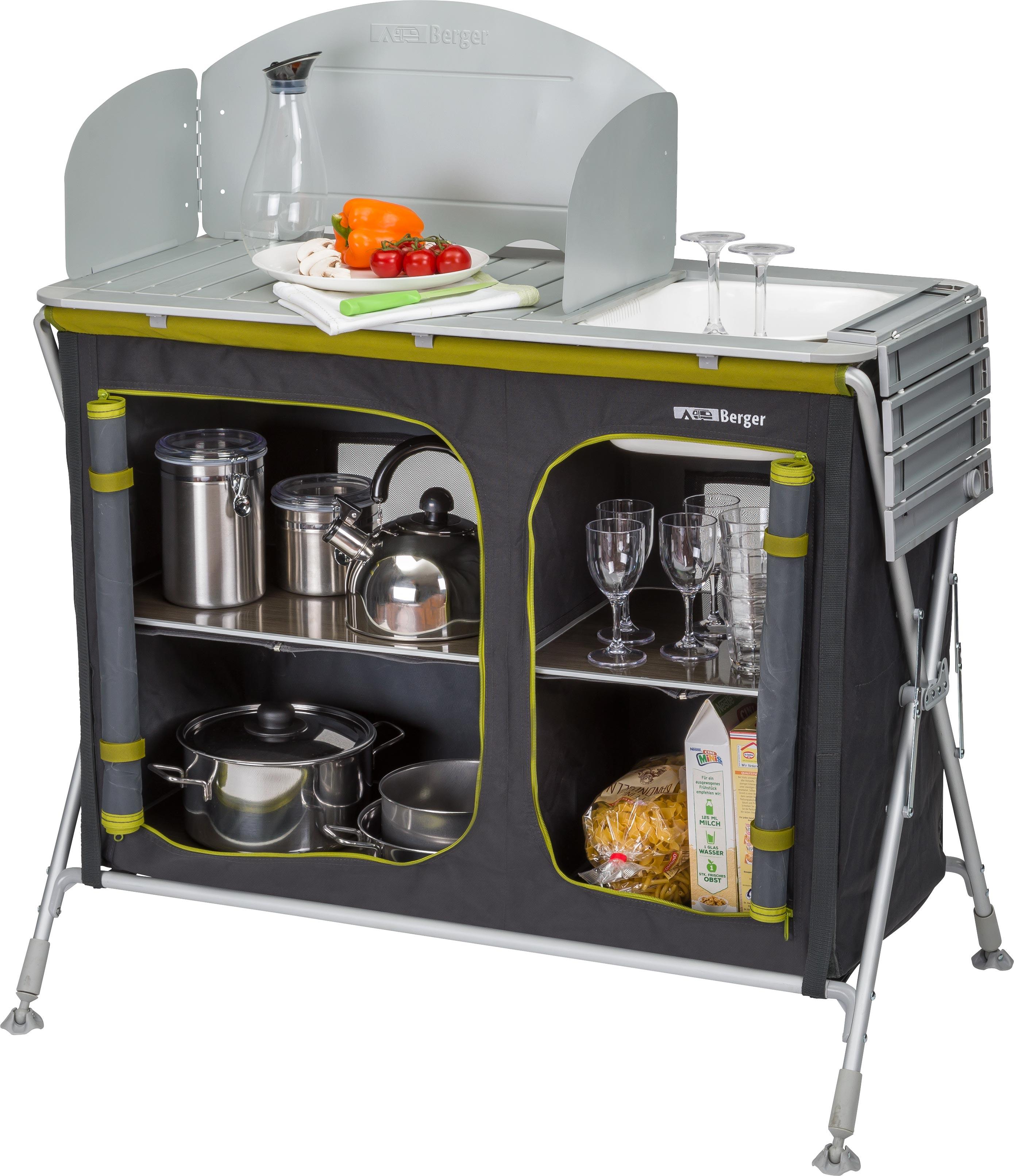 Berger Küchenbox Pablo mit Spüle | 04036231059278