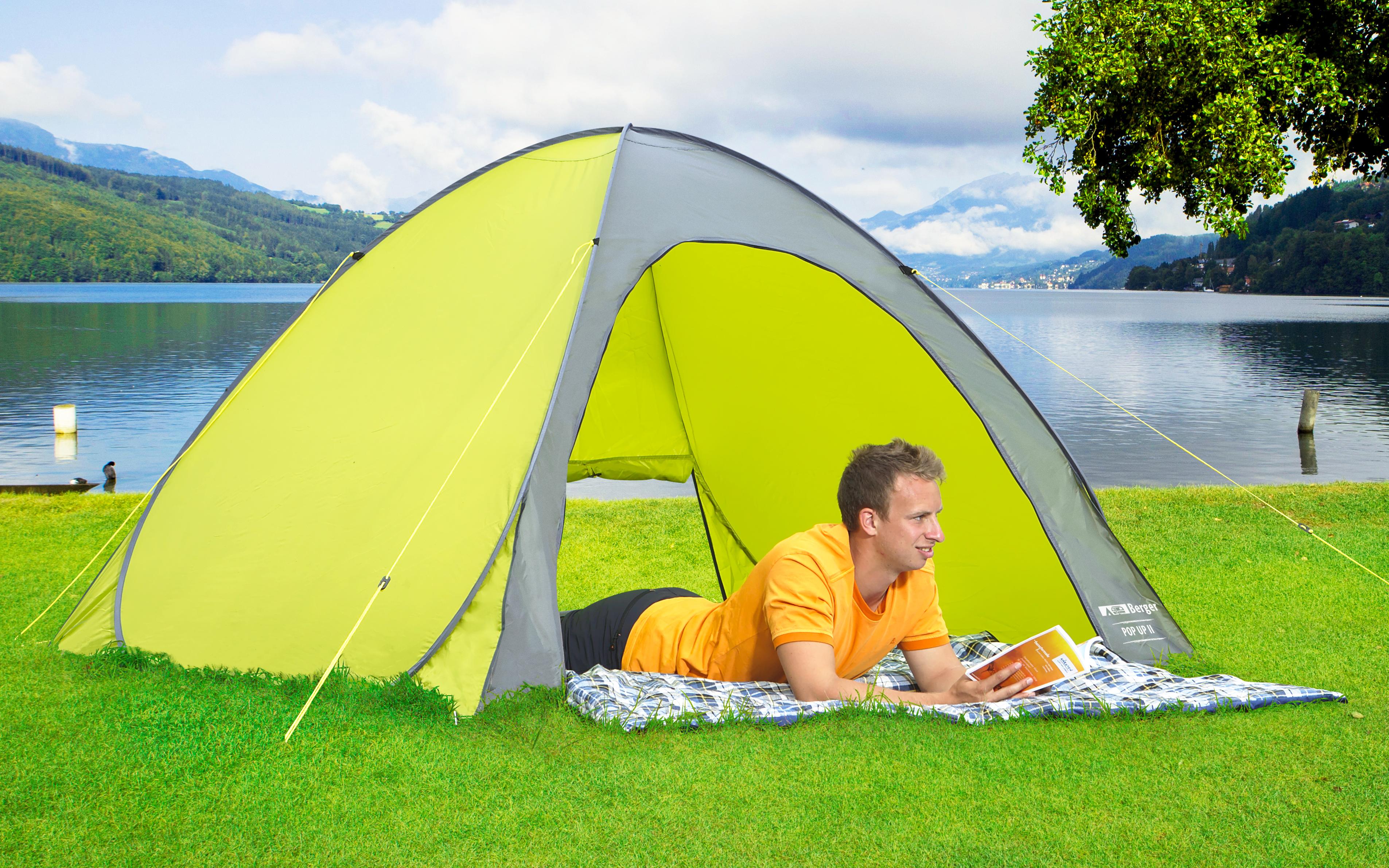 Berger Strandmuschel Fold Fritz Berger Campingbedarf