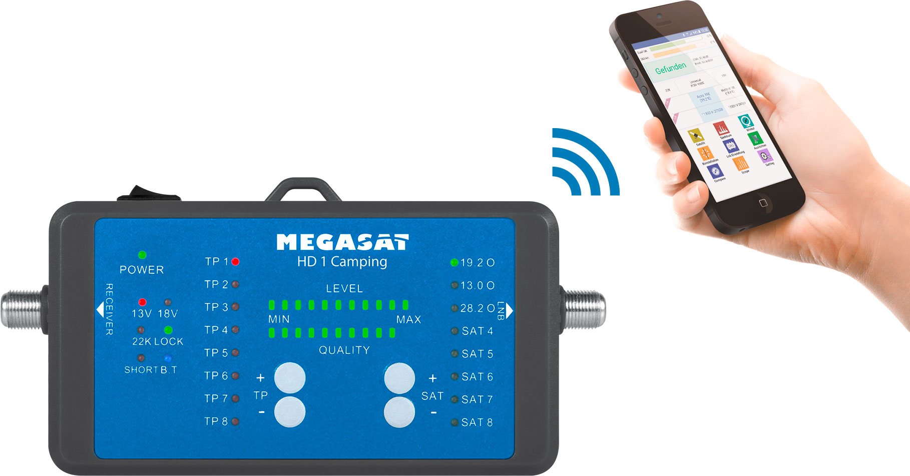 Megasat Messgerät HD1 Camping