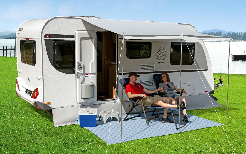 Sonnenvordach Ideal II Camping Sonnenschutz für Wohnwagen Maskise Maskise Wohnwagen 3 Ausführungen e62a71