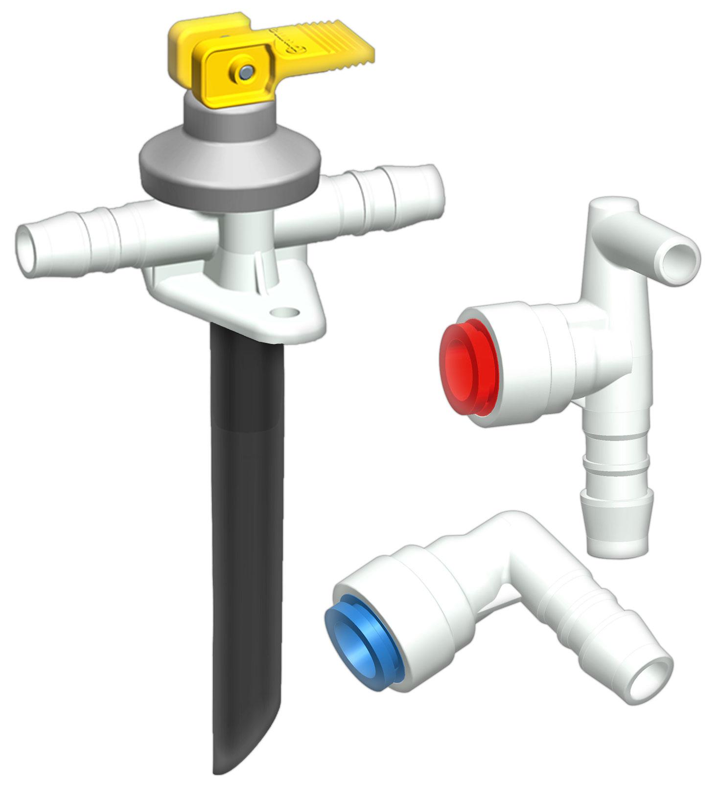 Truma Wasser-Anschluss Set   04052816020198