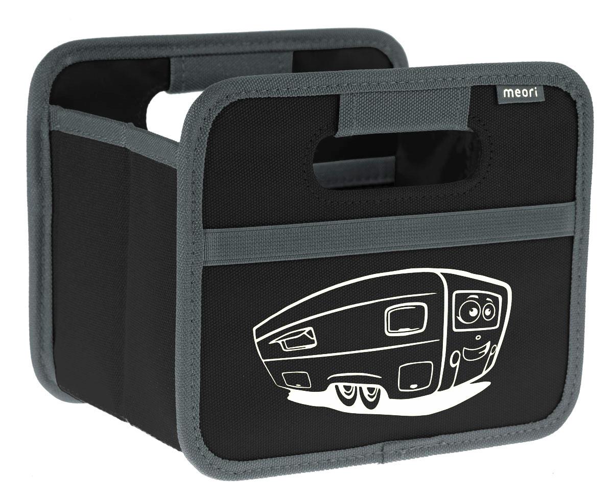 Meori Faltbox Mini Caravan Schwarz