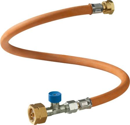 GOK Hochdruckgasschlauch 45 cm / X. 3 mit Schlauchbruchsicherung für NL; RU