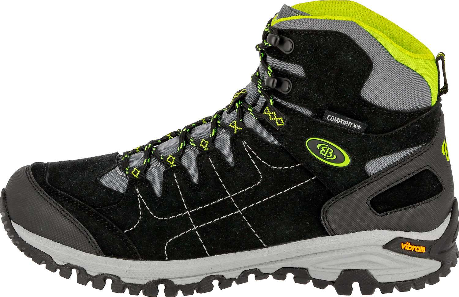 Brütting Herren Trekkingstiefel Mount Shasta High | 04019329356855