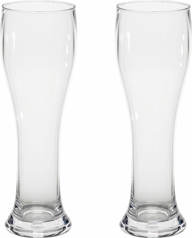 Gimex Kunststoff Weizengläser 0,5 l 2er Set | 04024374689308