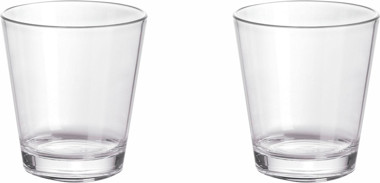 Gimex Kunststoff Trinkgläser 0,25 l 2er Set