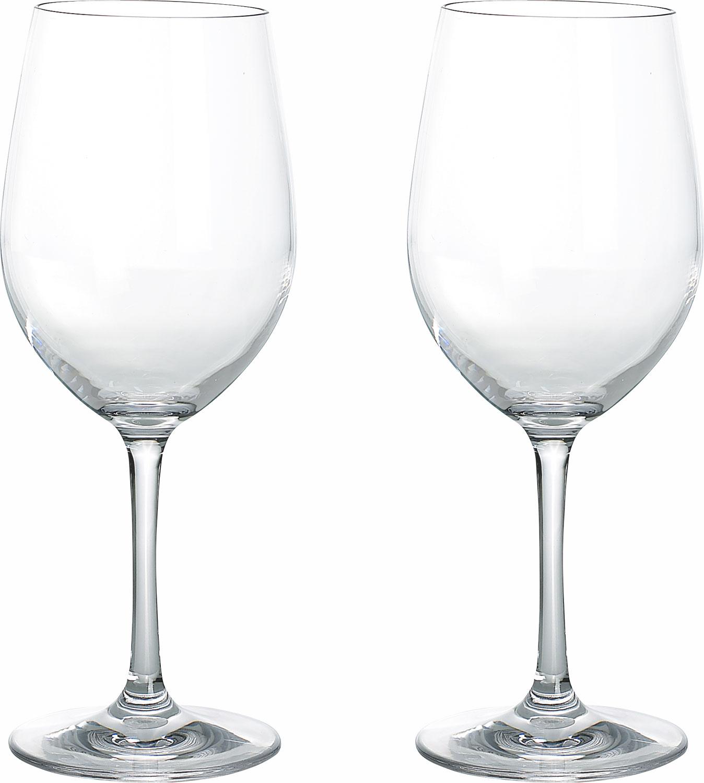Gimex Kunststoff Weißweingläser Blow 0,25 l 2er Set