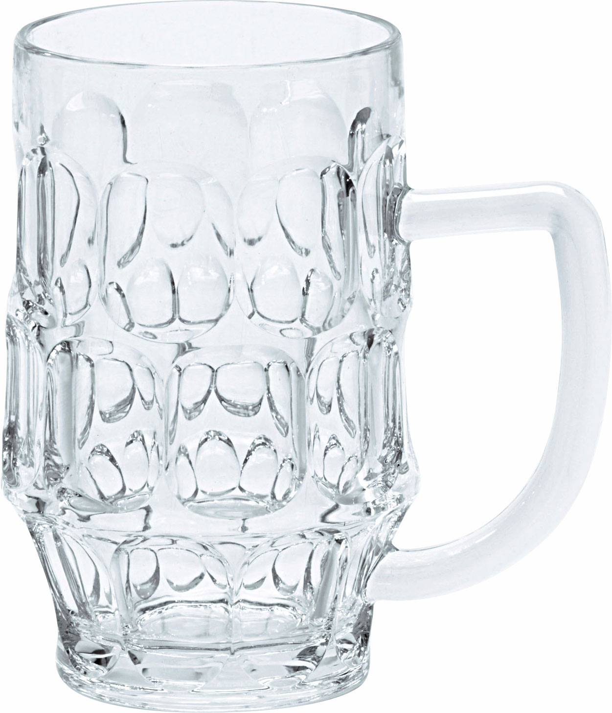 Gimex Kunststoff Bierkrug 0,5 l