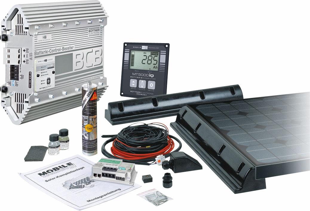 Büttner Solarset PowerPack Classic Power Plus I 160 W | 04260397963418