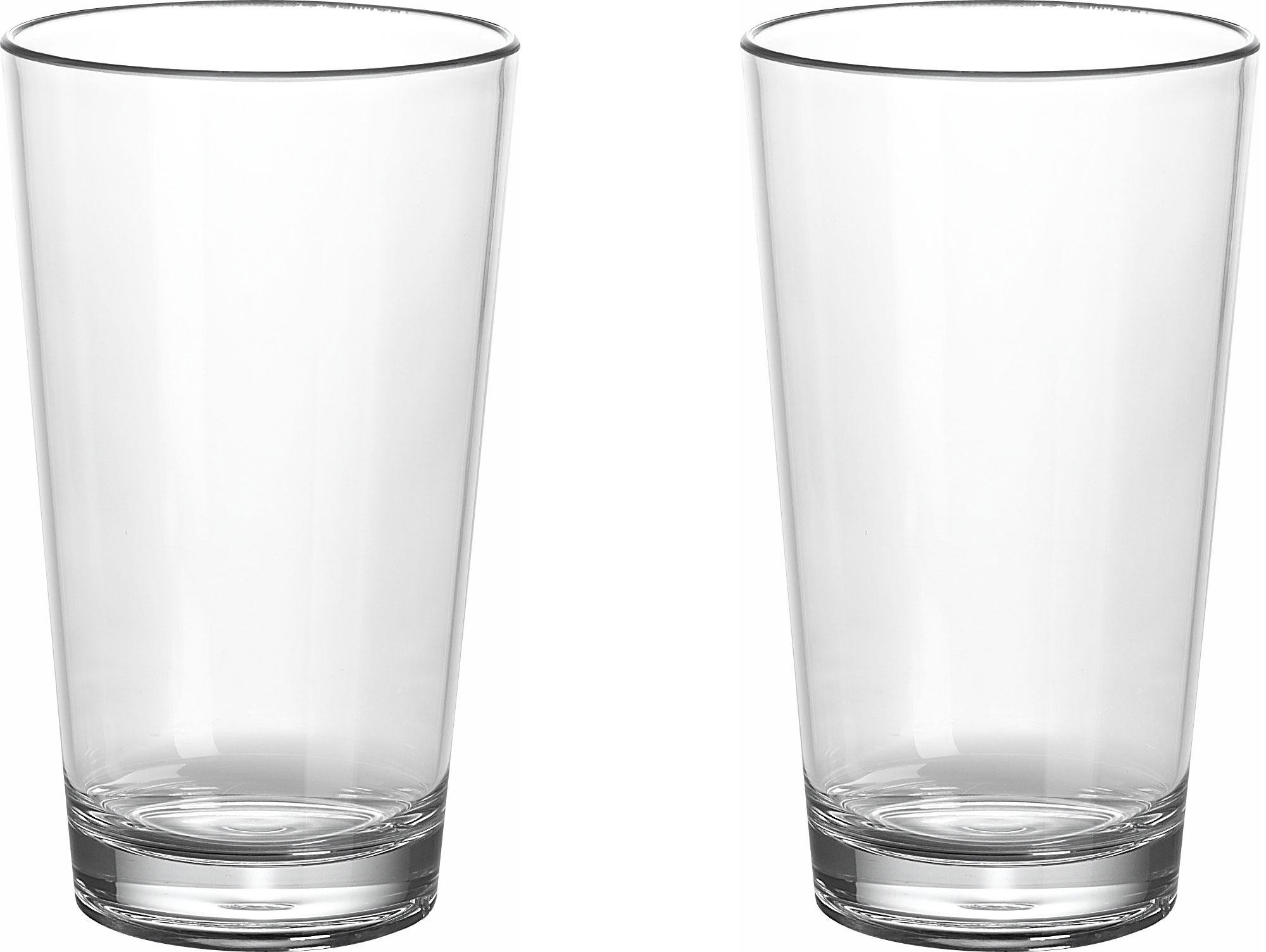 Gimex Kunststoff Latte Macchiato Gläser 0,35 l 2er Set