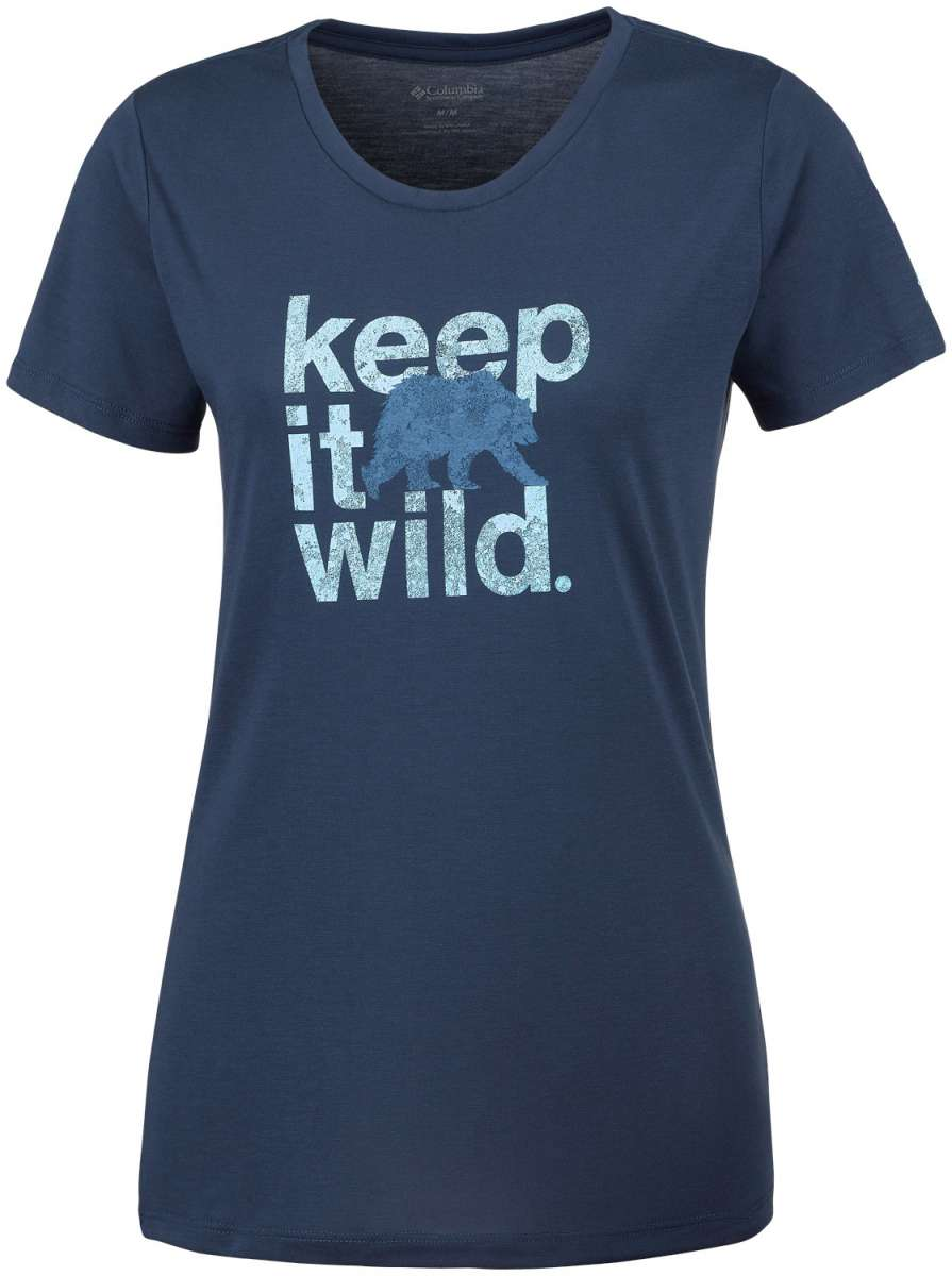 Columbia Damen T-Shirt Outdoor Elements III | 00192290078880