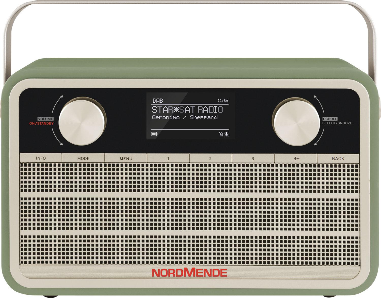 TechniSat DAB+ Transita 120 IR Digitalradio im Retrolook mit 24-Stunden-Akku