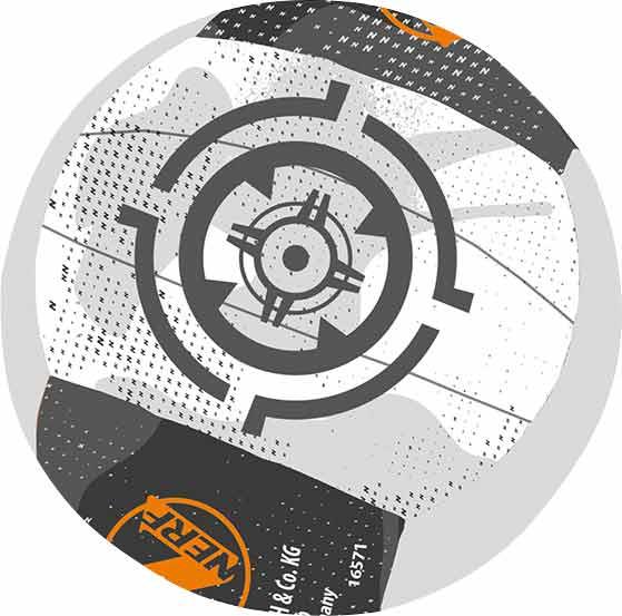 Nerf Neopren Miniball Gr. 2