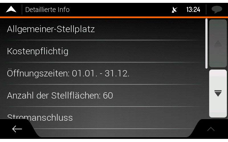 Xzent X-MAP27-MH1 Camping-Navigations-SD-Karte zu X-F270