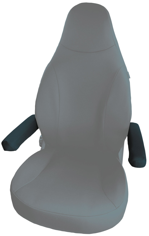 Petex Armlehnenbezug Universal schwarz