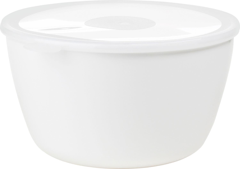 Mepal Volumia Servierschale mit Deckel 3 l weiß