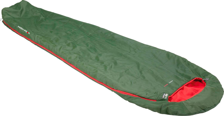 High Peak Pak 600 Mumienschlafsack pesto-rot