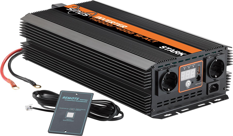 Teleco Sinus Wechselrichter TI 2000 SI-Act pro 12Vdc-230Vac