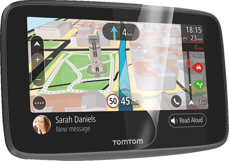 TomTom Displayschutz Kit für Navigationssystem Go Camper