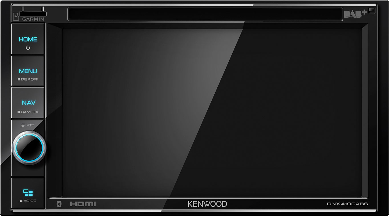 Kenwood DNX419DABS Multimedia Navigationssystem 6,2 Zoll