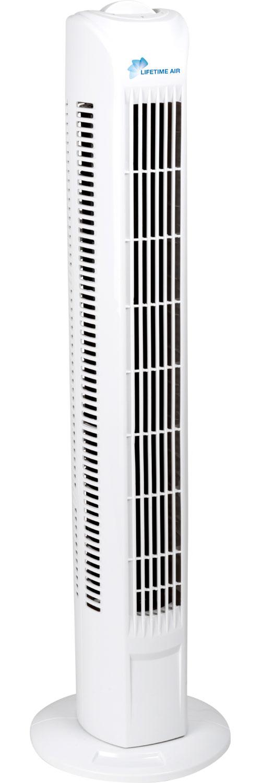 Turmventilator 78 cm Weiß