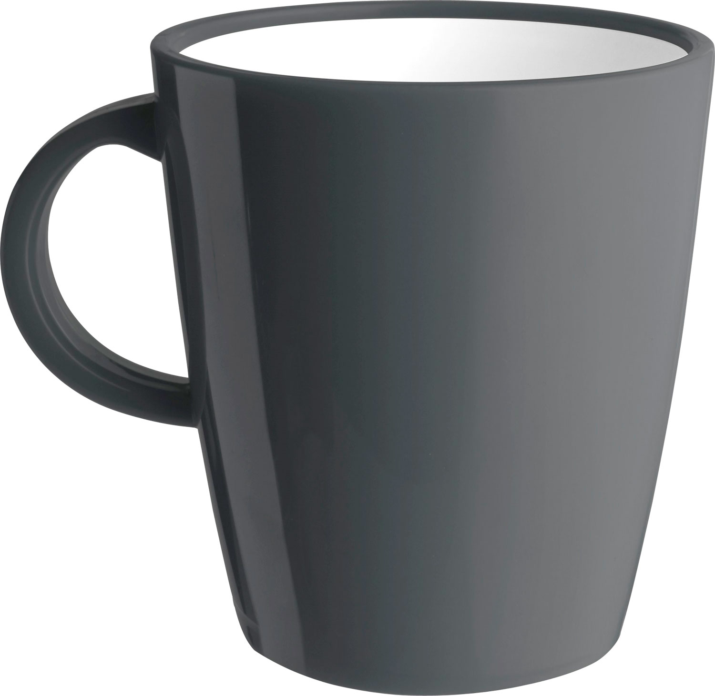 Brunner Hot Mug Resylin Henkelbecher 300 ml anthrazit