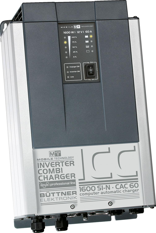 Büttner 1600 Si-N/ 60A Wechselrichter / Lader Kombi