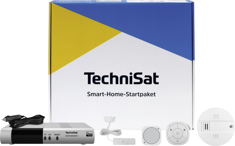 TechniSat Sicherheit Smart-Home-Startpaket Warnmeldesystem inkl. Zentraleinheit 2