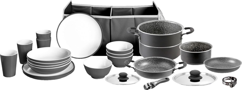 Brunner Mepo-Box Pirate Design Geschirr- & Kochset 25-tlg.
