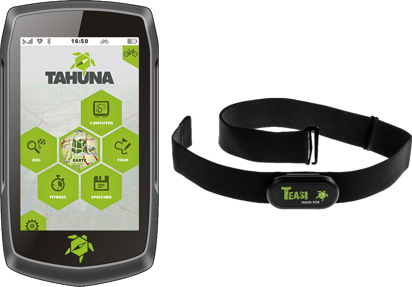 Tahuna Teasi One 4 Outdoor Navigationsgerät inkl. Herzfrequenz Sensor