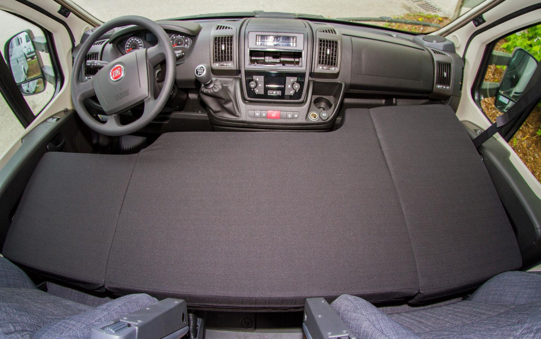 CampSleep Standard Matratze für Fahrerkabine 2-Sitzer