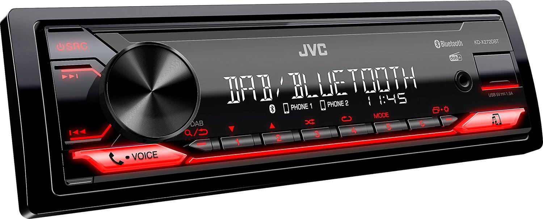 JVC KDX-272DBT 1DIN DAB+ Autoradio