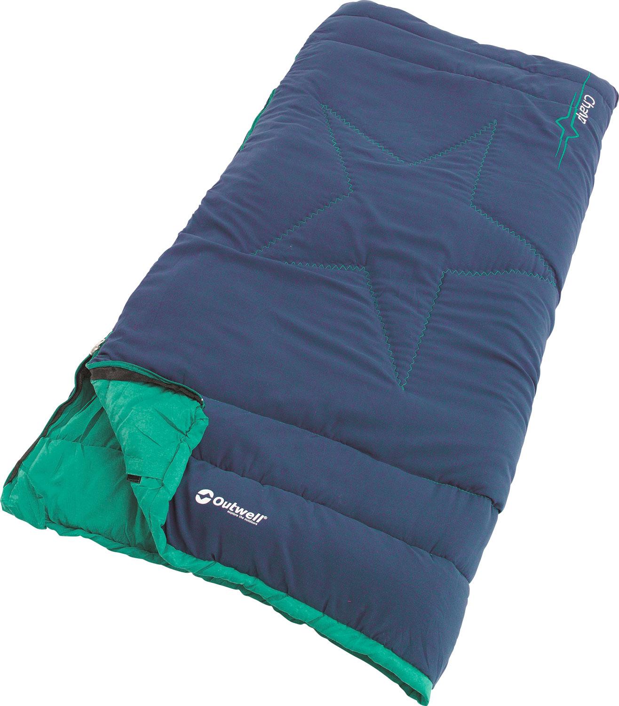 Ouwell Champ Kids Kinder-Deckenschlafsack  blau