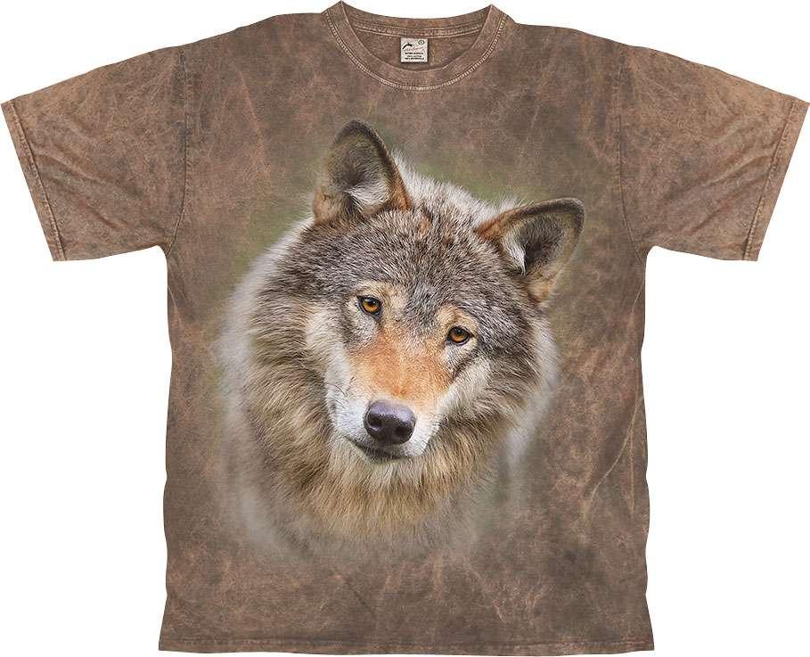 Harlequin Wolf Spell T-Shirt