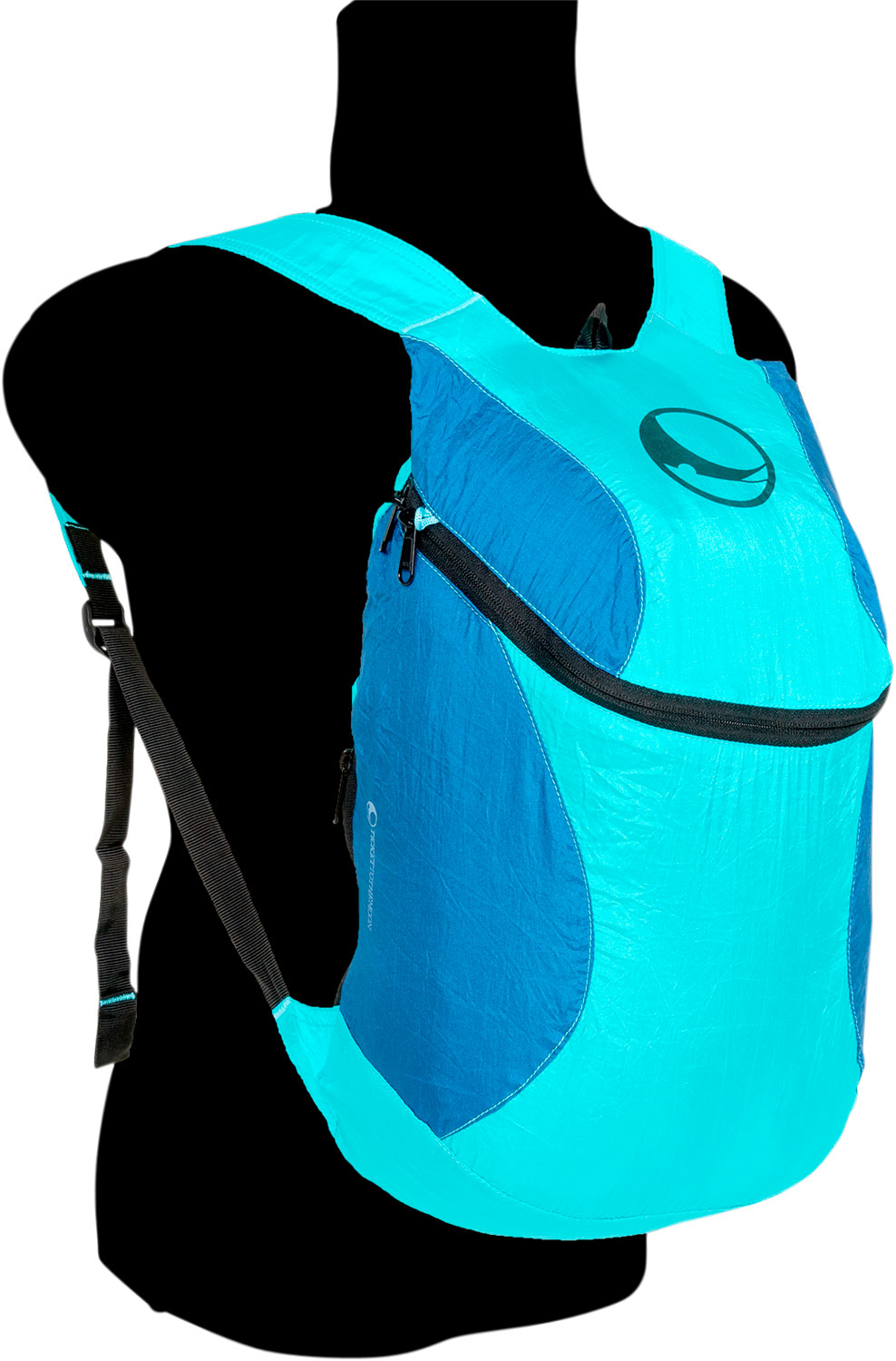 Ticket to the Moon Mini Rucksack 15 Liter Turquoise / Royal Blue