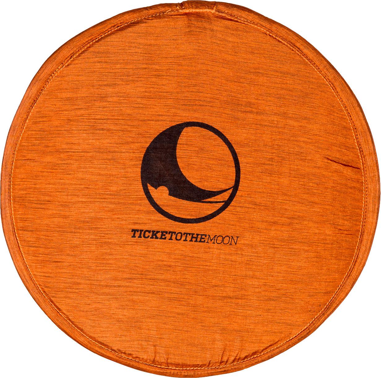 Ticket to the Moon Pocket Frisbee Terracotta Orange