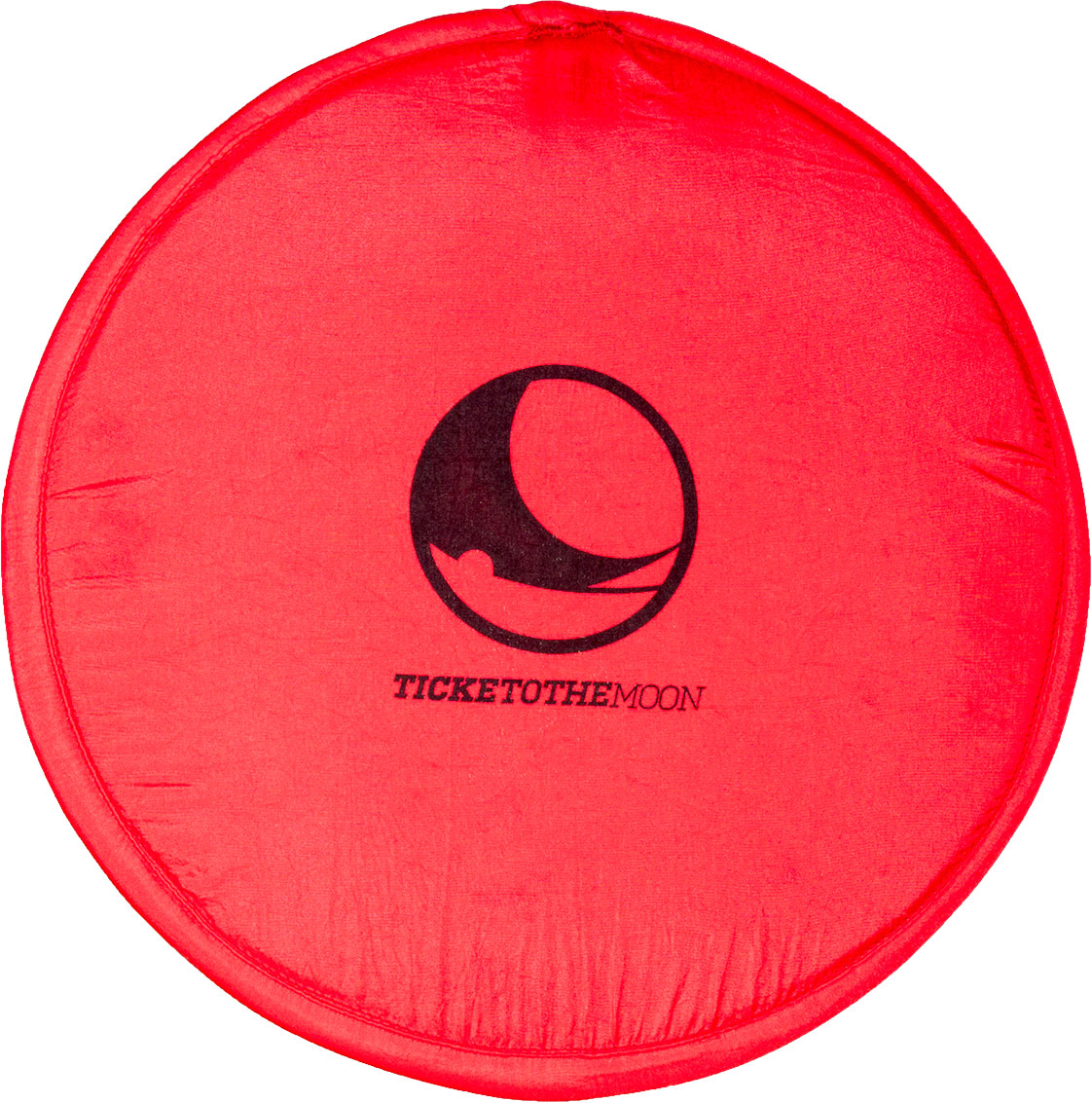 Ticket to the Moon Pocket Frisbee Red