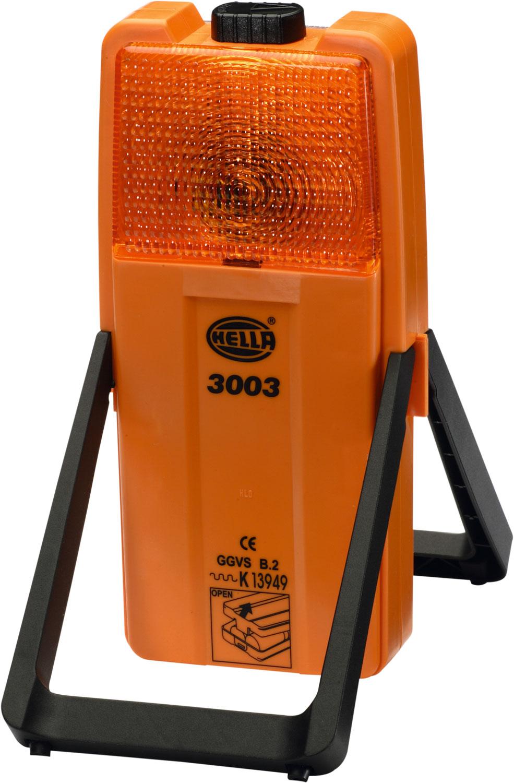 Hella Modell 3003 Warn- und Arbeitsleuchte mit Befestigungshalter