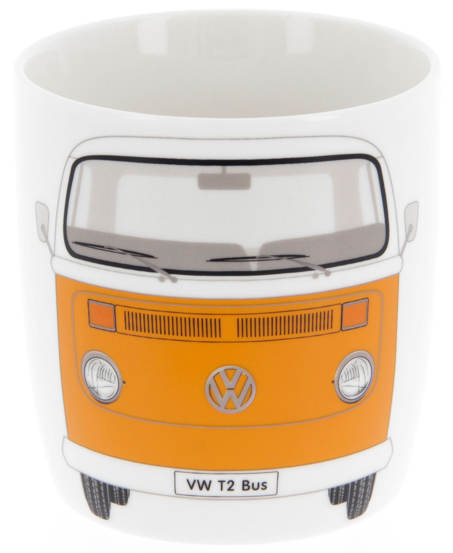 VW Collection T2 Bulli Kaffeetasse 370 ml orange