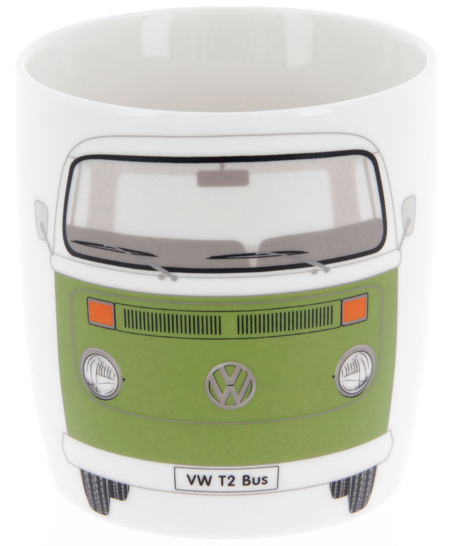 VW Collection T2 Bulli Kaffeetasse 370 ml grün