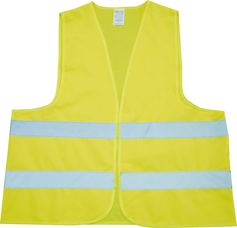 Petex Sicherheitsweste Erwachsene gelb