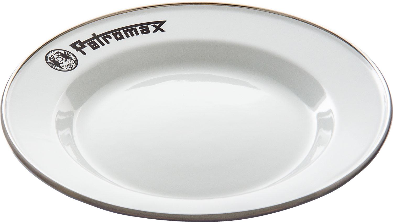 Petromax Emaille Teller 2er Set Weiß