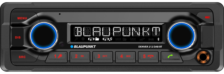 Blaupunkt Denver 212 DAB BT DAB+ Radio inkl. Bluetooth-Freisprecheinrichtung